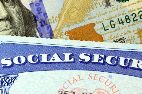 Retirement Concept Social Security Benefits