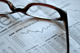 Stock Market - newspaper business concept